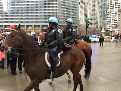 Polizei in Chicago